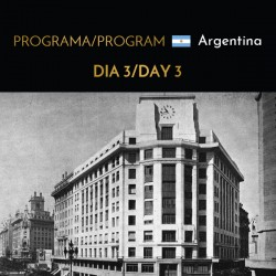 DAY 3 Buenos Aires Program...